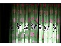 John Lewis curtains - farm animals design - ideal for childrens bedroom.