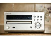 Silver Denon RCD-M39DAB Mini Sysytem without speakers but complete with Remote and Instructions