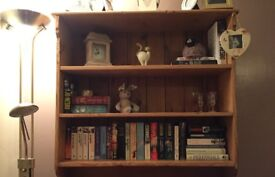 Solid wood dresser top/bookcase