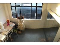 2 desk/workshop spaces available in creative studio