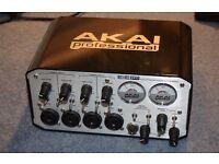 Akai EIE Pro Audio interface, 4 inputs, FAULTY, second hand, BARGAIN