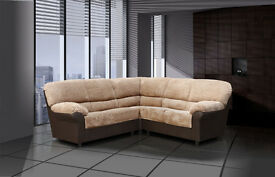Classic design Candy sofa / 3+2 seater set or corner sofa, available in leather or fabric & leather