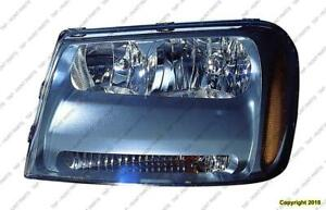 Head Light Driver Side High Quality Chevrolet Trailblazer 2006-2009