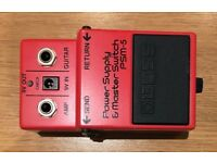 BOSS PSM-5 pedal, Made In Japan, Excellent
