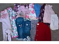 Baby Girls 0-3 Bundle of Clothes