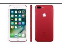 iPhone 7 Plus 128GB Red - UNLOCKED & PRISTINE
