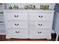 6 Drawer chest painted in Autentico Neutral