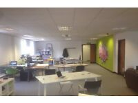 1 to 6 Desk office space available to rent with free offer, call 0208 961 1415