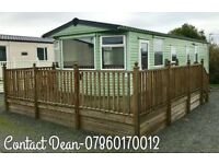 Static Caravan For Sale SITE FEES INCLUDED UNTIL 2019 Sea Views North West 12 Month 4 Star Park