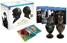 New Sherlock Limited Edition Gift Set The Complete Seasons 1-3 Blu-ray/DVD Combo