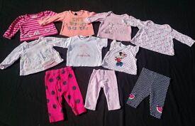 Baby girls 0-3 months clothes bundles