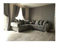New Verona sofa 3+2 seater in grey colour -Cash on delivery ***Sale Price**