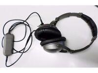 argus AWM02US 3.5mm Connector Circumaural Active Noise Cancellation Headphones