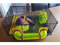 Rotastak Large Quality Hamster Cage & Assesories