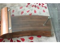 DFS curve coffee table