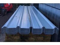 🔨 NEW 10FT GALVANISED BOX PROFILE ROOF SHEETS X 100