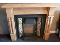 Beautiful period fireplace and surround