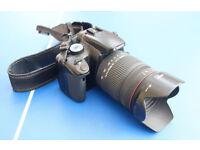 Canon EOS 400D Digital SLR Camera + Sigma 28-300mm Lens