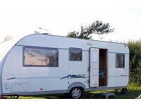 Fleetwood sonata melody 5 berth caravan in good condition