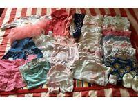 Newborn girls clothes bundle