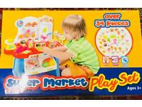 Brand new supermarket playset