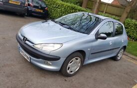*PEUGEOT 206 * 1.4 * 2003 REG * MOT TIL APRIL 2019 * EXCELLENT CONDITION * QUICK SALE ** £525 **