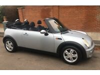 MINI ONE CABRIOLET LOW MILEAGE SERVICE HISTORY ONE YEARS MOT RECENT SERVICE MINI ONE LOW INSURANCE