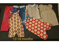 clothes for a girl 12-18m