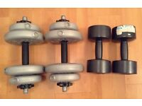URGENT! Set Of weights X2 in good condition, available ASAP