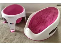 Angelcare Soft touch Bath Support and Sit Up Seat Pink