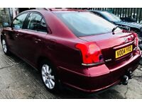 **AUTO+LOW MILES** TOYOTA AVENSIS 1.8 T2 AUTO + JUST SERVICED + 2KEYS + CLEAN CAR + SPARES OR REPAIR