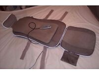Beurer MG220 Neck & Back Shiatsu Heat Massage Seat Cover With Controller