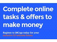 Work From Home Job Earn £1 - £40 Per Completed Offer Using Your iPhone iPad Smartphone Weekend Flexi