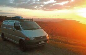 2003 Toyota Hiace lwb, camper van conversion, low mileage, 12 months MOT
