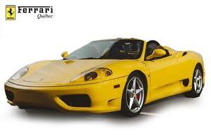 2002 Ferrari 360 Spider MANUAL