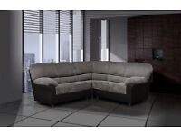 ***Classic Candy sofas/ 3+2-seater-set -OR- corner-sofa*** Available in leather or fabric