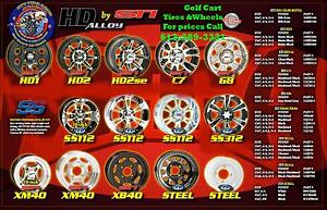 Golf Cart Wheels Rims - Tires - Batteries - Lowest PRICES CANADA