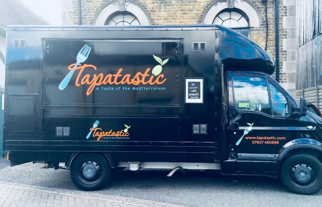 Catering Van Fully Kitted Out And Ready To Use Amazing Conversion Drive