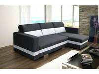 New corner sofa bed with storage R-mini,Amk furniture,Naroznik double bed