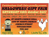TCF's HALLOWEEN Handmade Gift Fair - Twickenham - 28th OCTOBER 2017