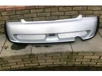 Bmw mini one cooper Aero rear bumper