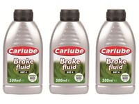 *BRAND NEW* Carlube Synthetic Brake & Clutch Fluid DOT 4 (500ML)