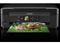 epson home printer with wifi and phone conection..ink pic for ref...