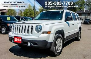 2013 Jeep Patriot NORTH, 4X4, A/C, AUTO
