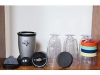 Small Compact Smoothie Blender like Nutribullet Design