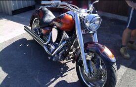 YAMAHA 1600 wildstar custom..........5800