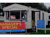 Cheap 2 bed static caravan*MANAGERS SPECIAL*Free 2016 Site Fee*12 Month Park*Dog Friendly*East Coast