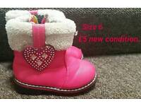 Size 6 girls boots