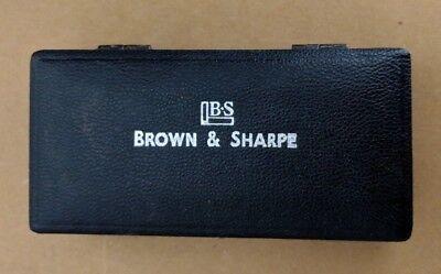 Brown And Sharpe 599-250-9999 Caliper Case