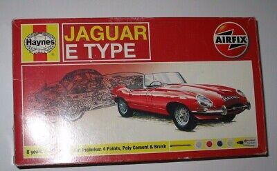 Airfix /Haynes Jaguar E Type Kit 1:32